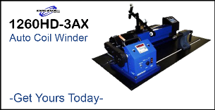 1260-3AX Heavy Duty Auto Coil Winder