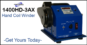 1400-3AX Heavy Duty Coil Winder