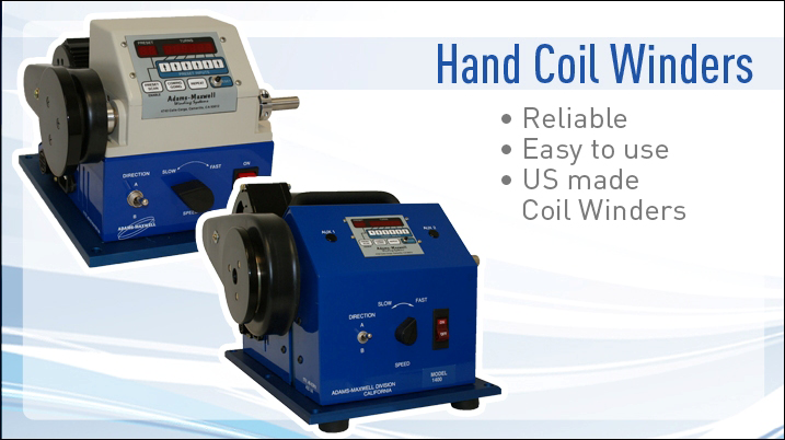 Hand Coil Winders